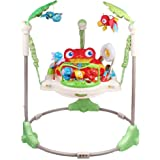 Tropical Rainforest Jumperoo,New-Born Baby Activity Centre Jumper with Music,A