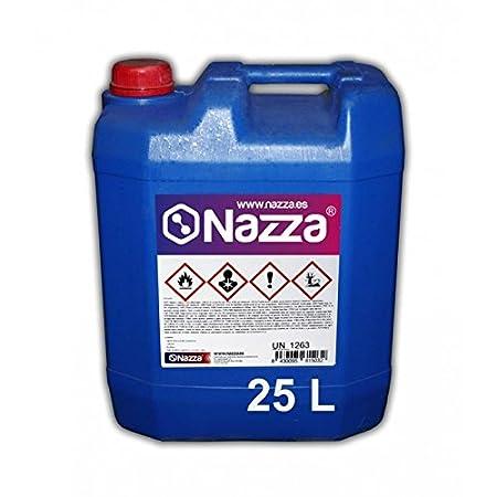 Disolvente Epoxi Rodillo Nazza | Diluyente especial para su aplicació n con rodillo | Limpieza de herramientas y pinturas con base epoxí dica | Envase de Plá stico de 5 Litros