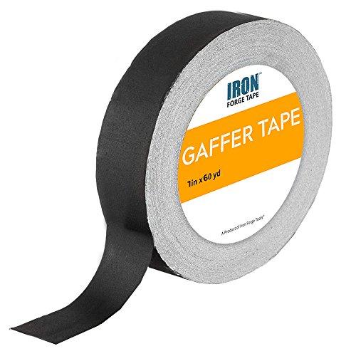 Black Gaffers Tape - 1in x 60 Yards Gaffer Tape Roll