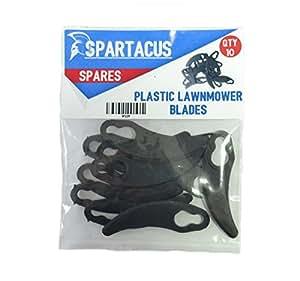 Spartacus de clip de plástico cuchillas para cortacésped para desafío m1g-zp2–280E 1100W