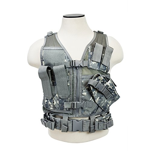 Nc Star Vest, Digital Camo, Small