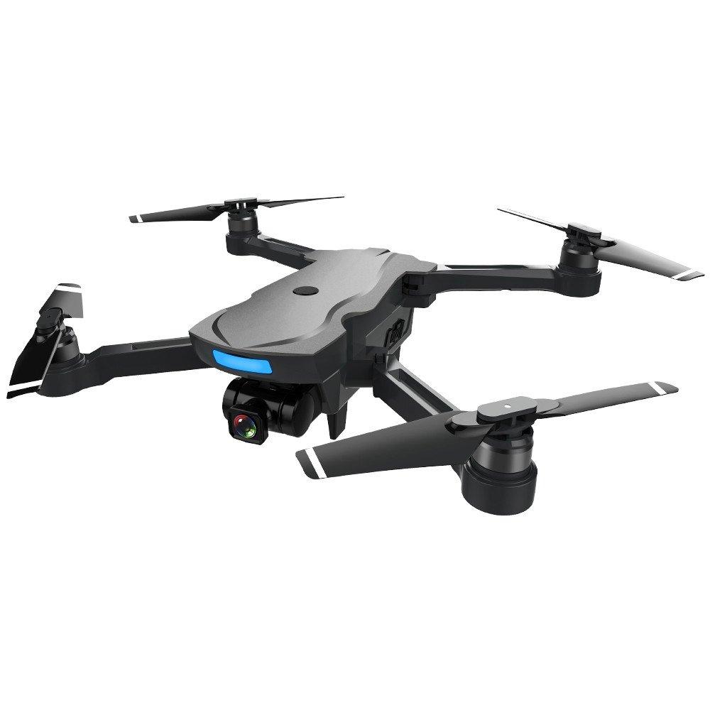 Prevently CG033 Drone Faltbares Quadcopter FPV GPS WiFi HD 1080P Kamera GPS  Bürstenloser Motor Flugzeuge 2.4GHz 6-Achsen Gyro Fernsteuerungs (Schwarz)