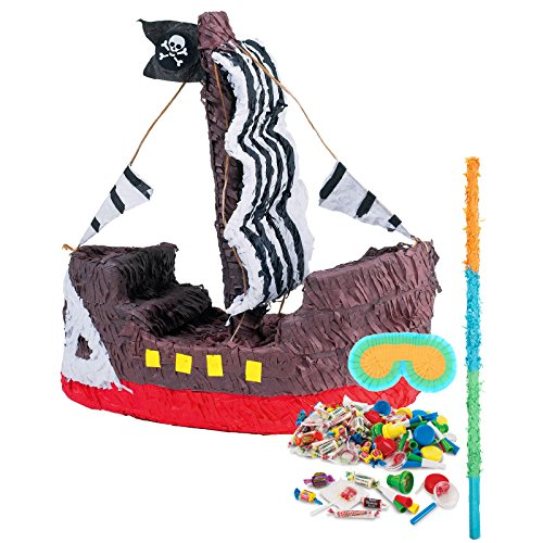 BirthdayExpress Pirate Ship Pinata Kit -