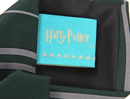 elope Harry Potter Slytherin House Necktie Green