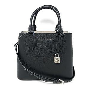 1a5c560c0292 Michael Kors Adele MD Leather Messenger Bag Handbag