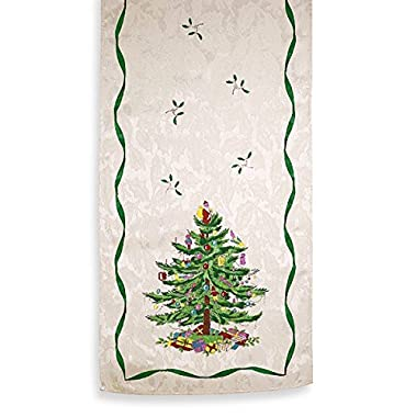 Spode Christmas Tree Table Runner 14 x 72-Inch