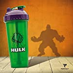 Perfect Shaker Hulk Justice League Gym Shaker/Bottle, 800 ml