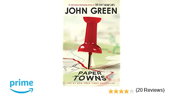 Paper Towns (Puffin Books): Amazon.es: John Green: Libros en idiomas extranjeros