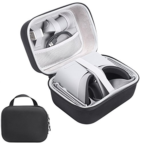 Oculus Go Case, XBERSTAR Hard EVA Travel Carrying Bag Storage Case Handheld Suitcase Protective Box Accessories for Oculus Go VR Headset by XBERSTAR