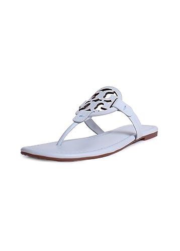 1f606f17a642a Tory Burch Miller Thong Sandals Seltzer 6.5
