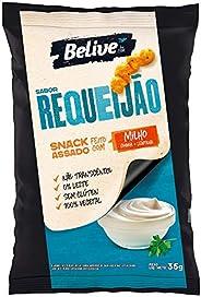 Snack de Milho sabor Requeijão Sem glúten Sem lactose BeLive 35g