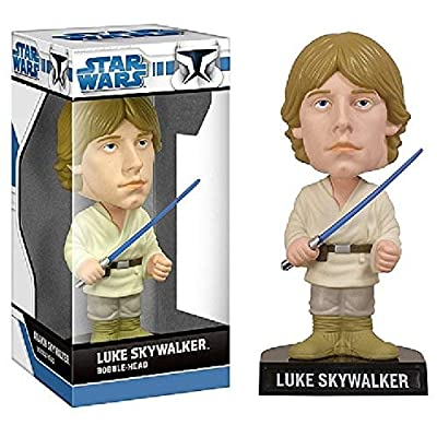 Funko 115587 Luke Skywalker SW WackyWobbler: Toys & Games