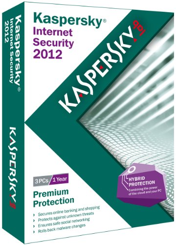 KASPERSKY INTERNET SECURITY 2012 XPVISTAWIN product image
