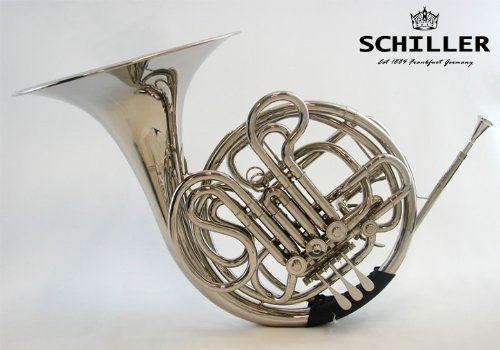 Schiller American Heritage IV Double French Horn - Nickel by Schiller