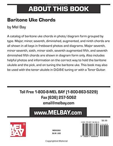 Baritone Uke Chords In Photo And Diagram Form Amazon Mel