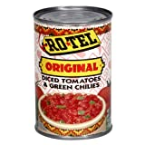 Rotel Tomato & Green Chilies, Diced, 10-Ounce Cans (Pack of 12)