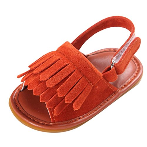 The New Fashionable Boy's Sandals-Orange - 9
