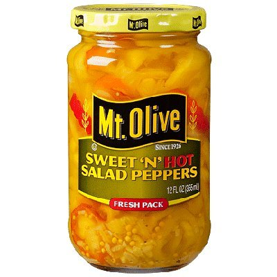 Mt. Olive Sweet 'N' Hot Salad Peppers - 12 oz (Pepper Salad)
