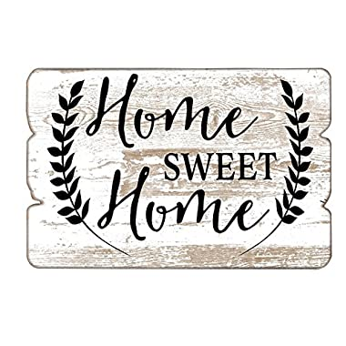 MODE HOME 11.81 X15.75  Decorative Wooden Wall Hanging Signs Plaque With Quotes Sayings