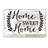 MODE HOME 11.81''X15.75'' Decorative Wooden Wall Hanging Signs Plaque With Quotes Sayings