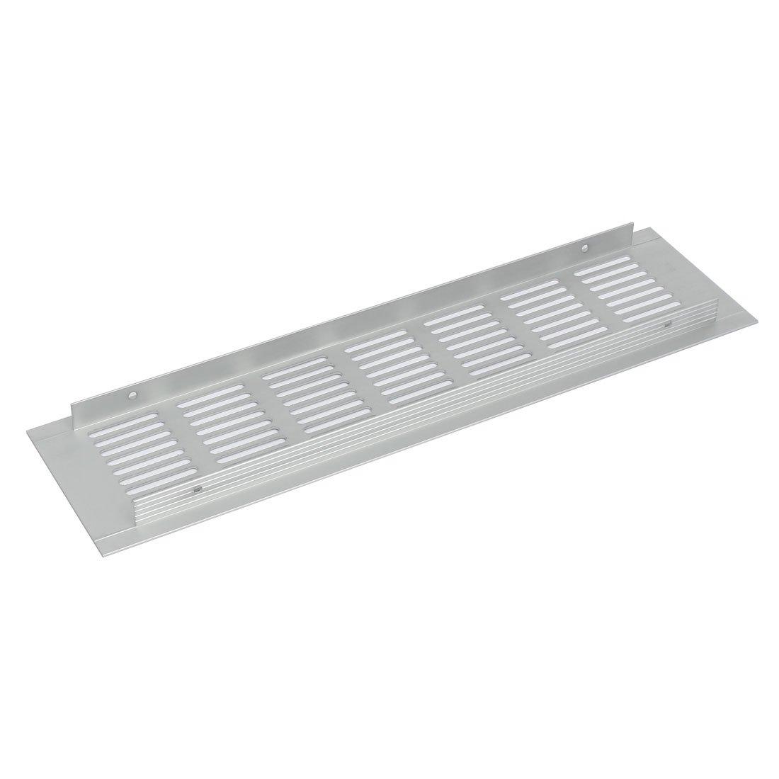 sourcingmap/® Alliage aluminium persiennes A/érateur Grille de ventilation Grille 300mmx80mm 2pcs