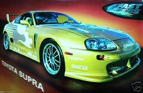 Hot Stuff Enterprise 625-24x36-CB Toyota Supra Poster
