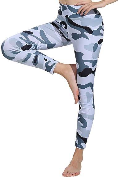 Blu, XL luoluoluo Leggings Donna Pantaloni Running Donna//Fitness Donna Abbigliamento//Yoga Pantaloni Donna//Skinny Pantaloni//Yoga Pants Donna//Pantaloni Sportivi Donna//Leggings Donna