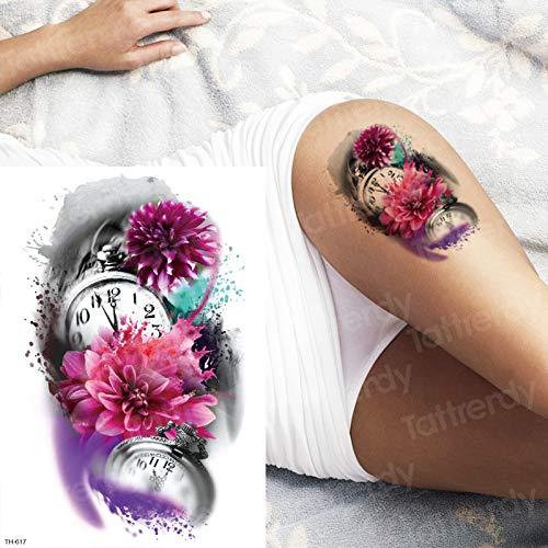 Handaxian 3 Piezas Tatuaje Tatuaje Pierna Tatuaje gótico brújula ...