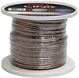 Pyle PSC12500 12-Gauge 500-Feet Spool of Speaker Zip Wire