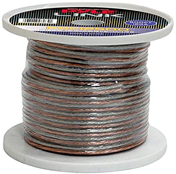 Pyle PSC1250 12-Gauge, 50 feet Spool of High Quality Speaker Zip Wire Sound Around