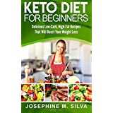 Keto Diet For Beginners: Delicious Low-Carb, High-Fat Recipes That Will Boost Your Weight Loss