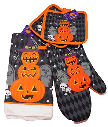 Simply Holidays Halloween Kitchen Towel Decorations
