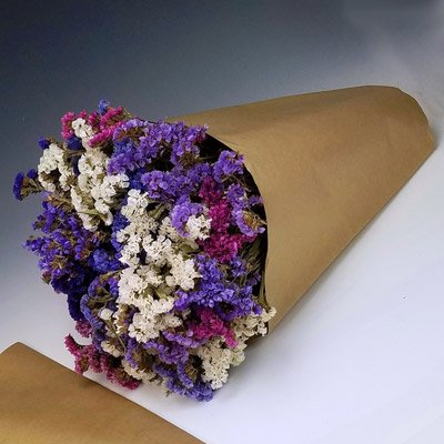 Kraft Paper Cut Flower Bouquet Sleeves - Measure 18''x 16'' x 5''