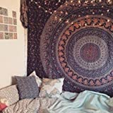 Popular Handicrafts Popular Twin Hippie Indian Tapestry Elephant Mandala Throw Wall Hanging Gypsy Bedspread Review