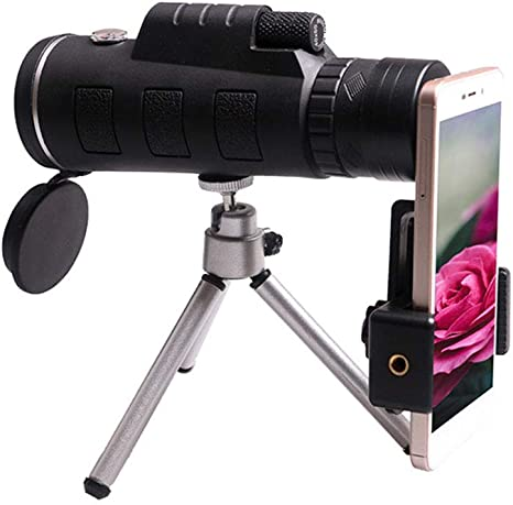 FNIANC 40x60 monocular telescopio, de Alta Potencia BAK4 Prism ...