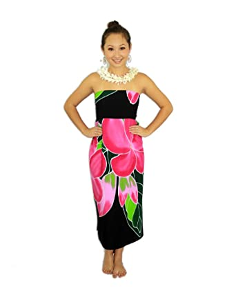 f5abcef028 Pareo Island Women's Plumeria Sarong at Amazon Women's Clothing store: