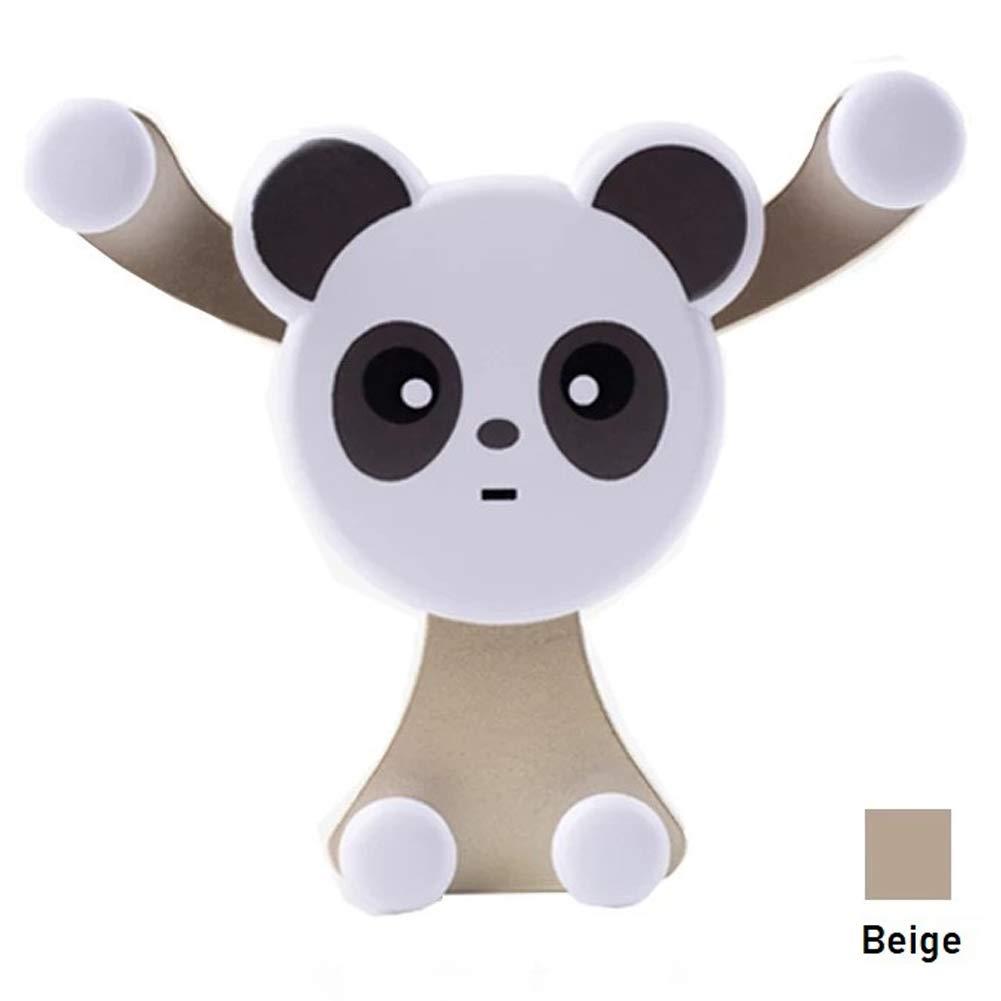 Delleu Panda di scarico carta fibbia auto mobile telefono staffa universale gravità induzione staffa di navigazione