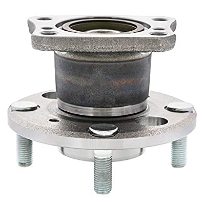 [2-Pack] 512490 - REAR Driver and Passenger Side Wheel Hub Bearing Assembly for [NON-ST Models ONLY] 2011-2020 Ford Fiesta [Cross Reference: SKF BR930784, Timken HA590367, WJB WA512490], 4-Lug Hub: Automotive