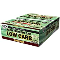 Bsc High Protein Low Carb Protein Bar 12 x 60g [FLAVOUR OPTIONS: Choc Mint]