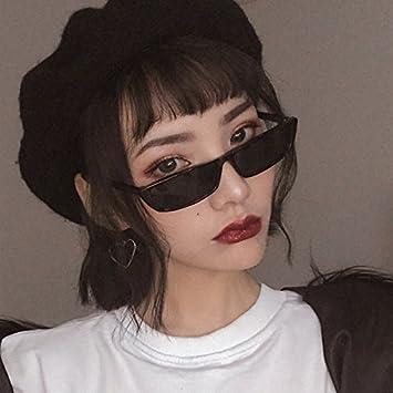 VVIIYJ Gafas de Sol cuadradas para Mujer Caja pequeña Gafas ...