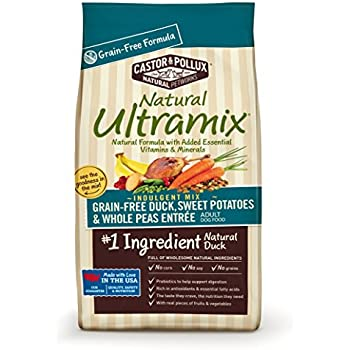 Natural Ultramix Grain Free Duck, Sweet Potatoes and Whole Peas Entrée Dry Dog Food, 25-Pound