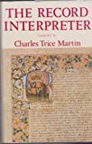 The Record Interpreter, Charles Trice-Martin, 0850334659