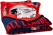 NFL New England Patriots Soft & Cozy 7-Piece Full Size Bed in a Bag