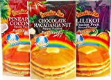 Hawaiian Sun Pancake Mix Assortment 6-ounce (Pack of 3) by Hawaiian Sun