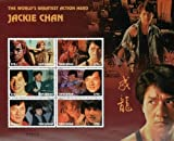 Tanzania Post Tanzania Jackie Chan The World's Greatest Action Hero Stamp Sheet of 6 Stamps