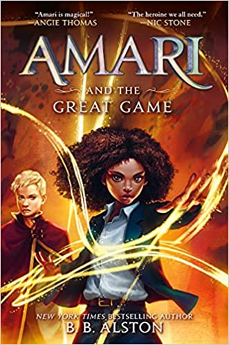 Cover Art for Amari and the Great Game