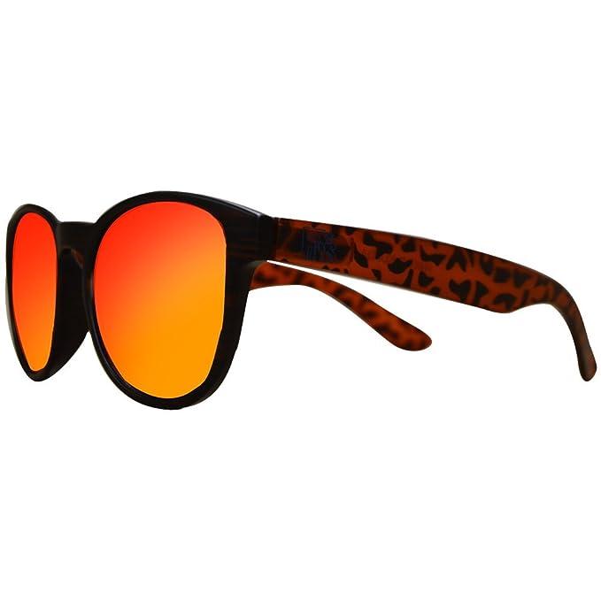 Gafas De Sol Fans, CustomEyes Rondo, Polarizadas + Varillas de madera gratuitas