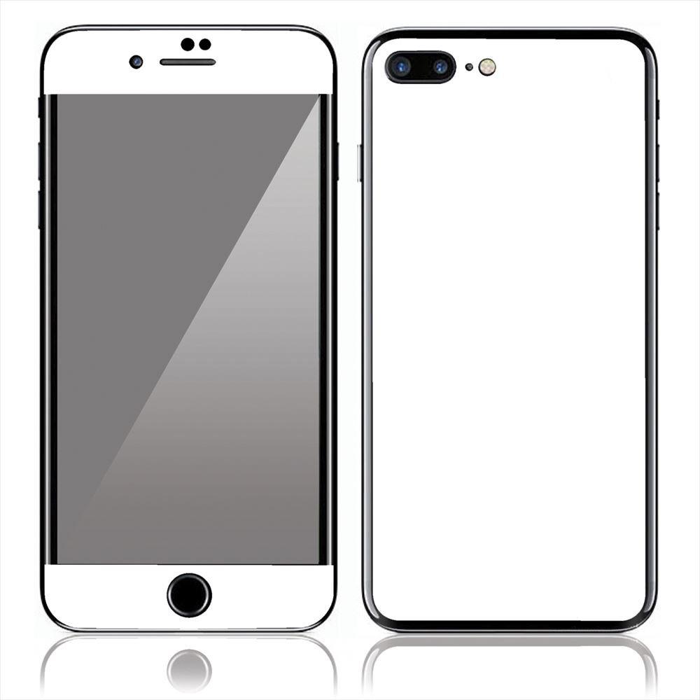 Amazon Iphone 7 Plus スキンシール 前面 背面 保護 シール Cp14 白