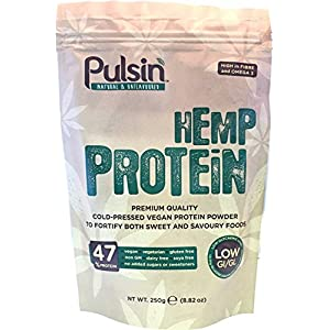 (12 PACK) – Pulsin Hemp Protein (Natural Uns...