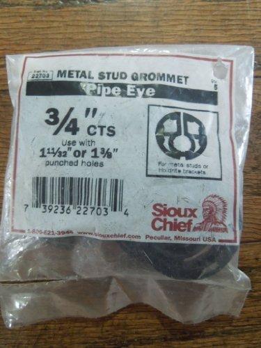 (Sioux Chief Metal Stud Grommet Pipe EYE 3/4